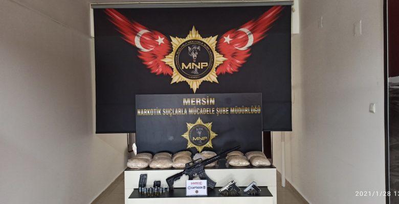 Mersin'de torbacılara operasyon