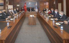 Mersin'deki yatırımlar masaya yatırıldı