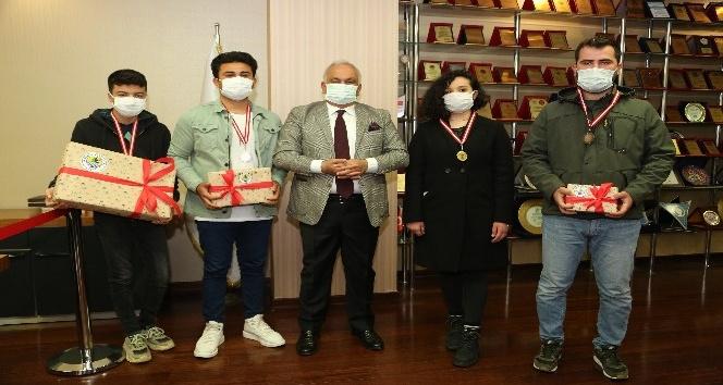 Erdemli Belediyesinden ödül