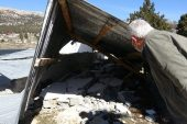 Başkan Tollu, rüzgar afetinden zarar gören vatandaşları dinledi