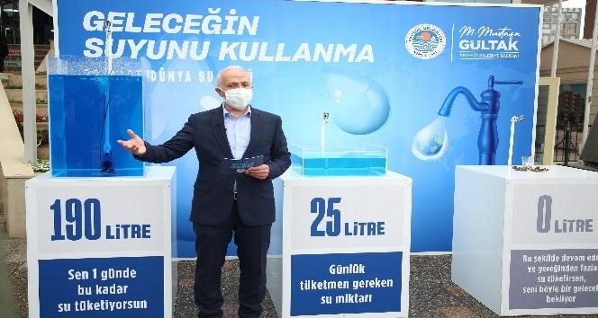 """""""Kişi başı su tüketimini 190 litreden 25 litreye düşürelim"""""""
