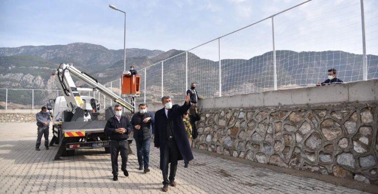 Anamur Belediyesi Okullara Desteğini Sürdürüyor.