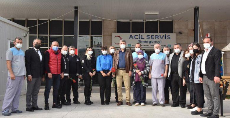 Başkan Kılınç, Sağlık Çalışanlarının Tıp Bayramını Kutladı