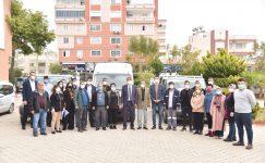 Anamur Belediyesi, ihtiyaç sahibi 5000 haneye gıda paketi dağıtımı yaptı