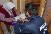 MESKİ'den 65 yaş üstü ve engelli vatandaşlara evde hizmet