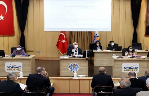 """""""Gelin destek verin, Akdeniz ve Mersin'i kentsel dönüşümle değiştirelim"""""""