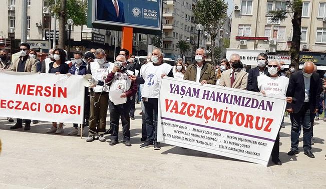 """""""SAĞLIKÇILAR TÜKENDİ"""""""