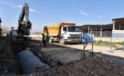 MESKİ'den Tarsus'ta yağmursuyu çalışması