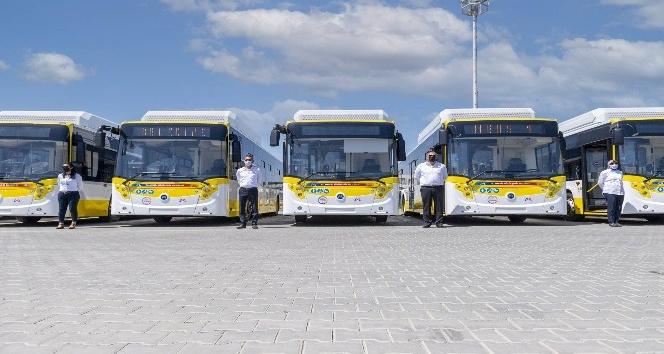 Limon renkli otobüsler sefere başlıyor
