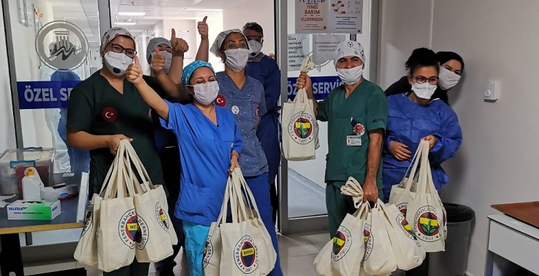 Mersin Fenerbahçeliler Derneği, yüreklere dokundu