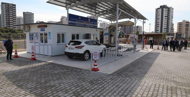 Mezitli'de Araç Muayene İstasyonu Hizmete Girdi