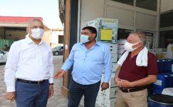 """Başkan Tarhan: """"Çiftçi üretmezse kentte ihracat durur"""""""