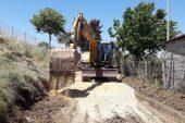 Akdeniz'de yol çalışmaları