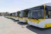33 yeni otobüs geldi