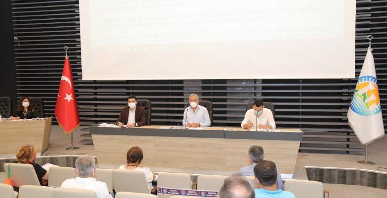 Mezitli Belediye Meclisinde İsrail'e Kınama