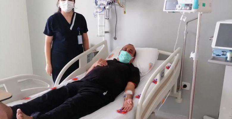 Onkoloji Hastanesi Kemik İliği Nakil Merkezi İlk Hastasını Kabul Etti