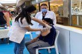 Mersin'de 1 milyondan fazla kişi aşılandı