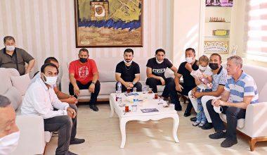 Roman Müzisyenlerden Başkan Gültak'a Ziyaret