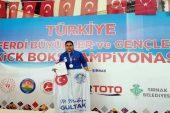 Milli boksör Gülizar Kara, altın madalyanın sahibi oldu