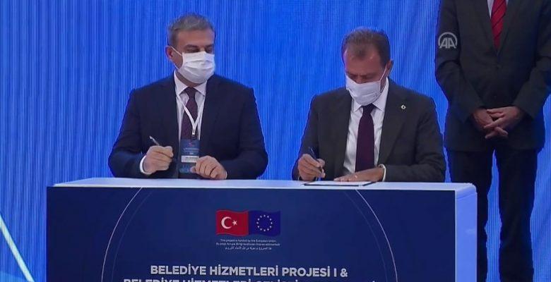 MERSİN'DE ALTYAPIYA 39 MİLYON AVRO'LUK DESTEK