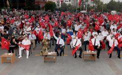 '15 Temmuz Demokrasi Nöbeti' 5. Yıl Dönümünde Vali Su'nun Katılımıyla Gerçekleşti
