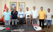 Türkiye Motosiklet Federasyonundan, Başkan Gültak'a Plaket