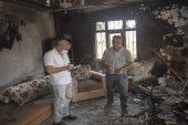 Büyükşehir Belediyesi, yangınların ardından bölgedeki vatandaşların yaralarını sarıyor