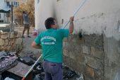 Anamur Belediyesi, Aydıncık'ta tamirat çalışmaları yapıyor