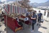 Ekipler, vatandaşlara ve itfaiye personellerine sağlık desteği verdi