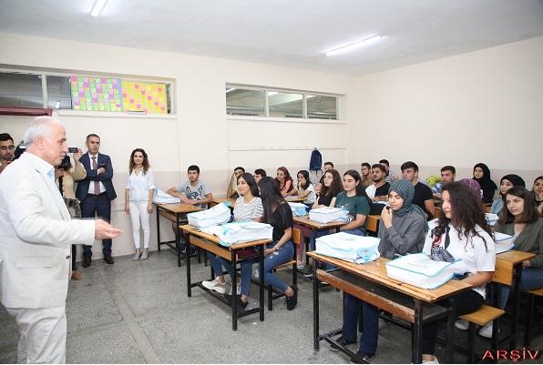 Akdeniz Belediyesinden Öğrencilere Rehberlik Hizmeti