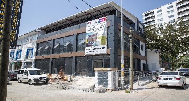 Mesleki eğitim merkezi 'MERCEK'in yapım aşamasında sona gelindi