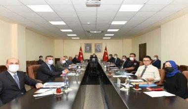 Üniversitelerde Güvenlik Koordinasyon toplantısı yapıldı