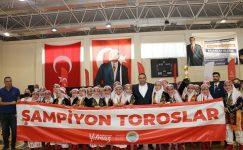 HALK OYUNLARINDA ŞAMPİYON YİNE TOROSLAR BELEDİYESİ