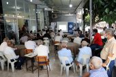 Kahvehanede Kadına Yönelik Şiddetle Mücadele Sohbeti yapıldı