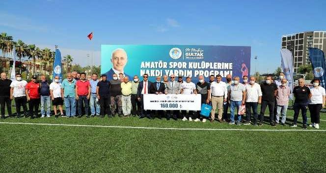Akdeniz Belediyesinden spora ve sporcuya destek