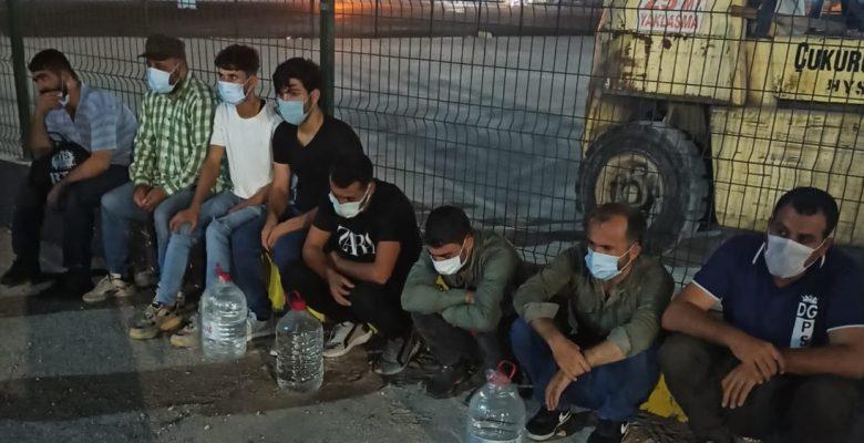 8 Suriyeli Mülteci Yakalandı